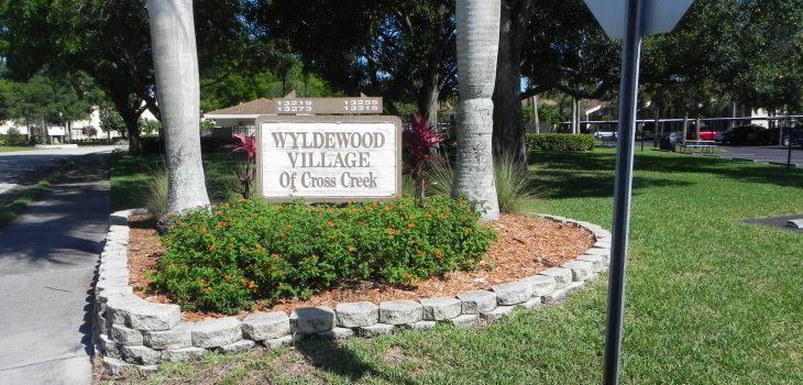 Wyldewood Village Sign